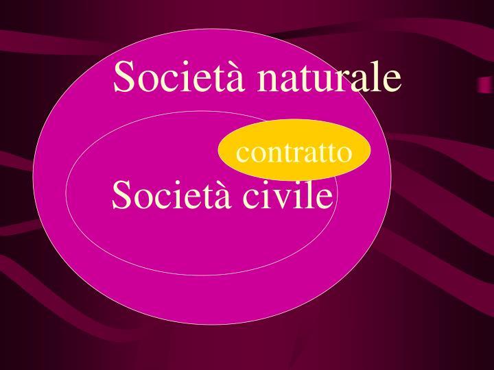 Società naturale