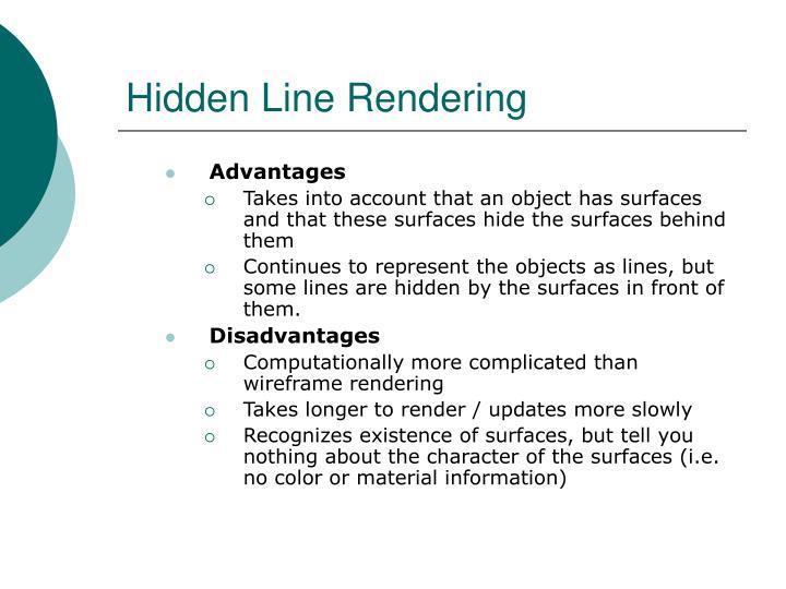 Hidden Line Rendering