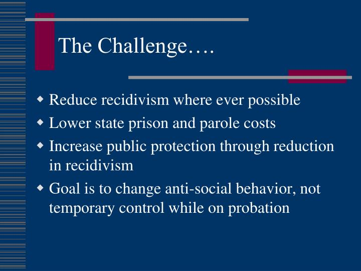 therapeutic communities in prisons as a tool to reducing recidivism California prison: treatment outcomes after 5 years  therapeutic communities have become increasingly  tcs were effective in reducing recidivism for drug.