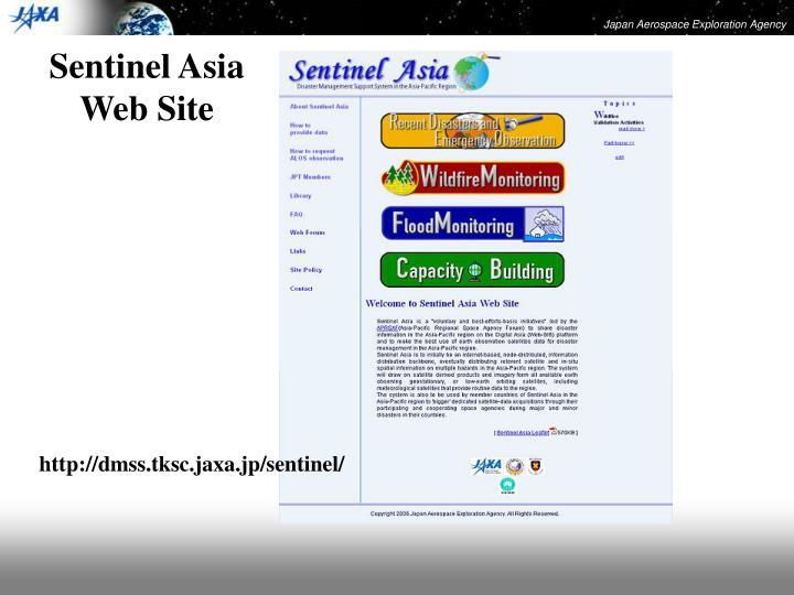 Sentinel Asia Web Site