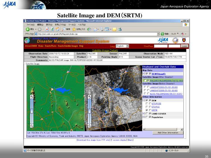 Satellite Image and DEM