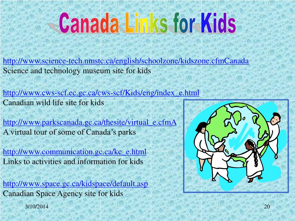 Canada Links for Kids