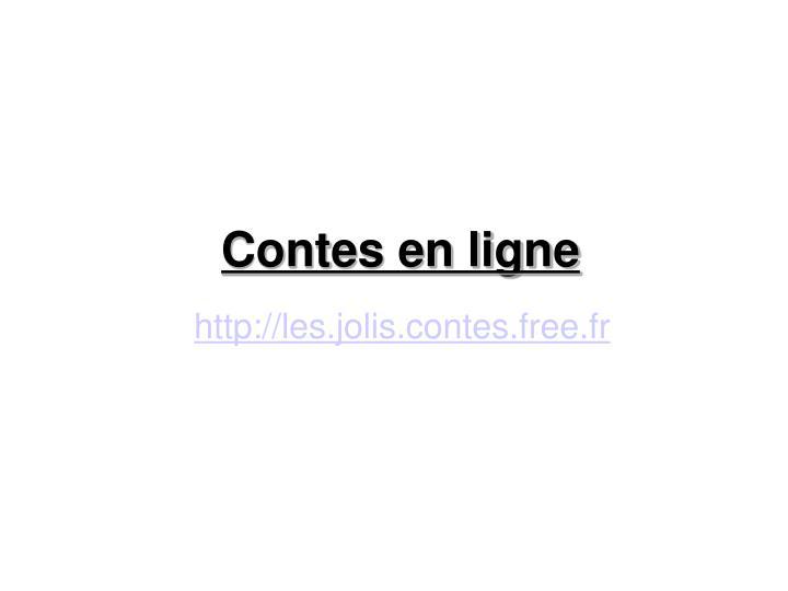 Contes en ligne