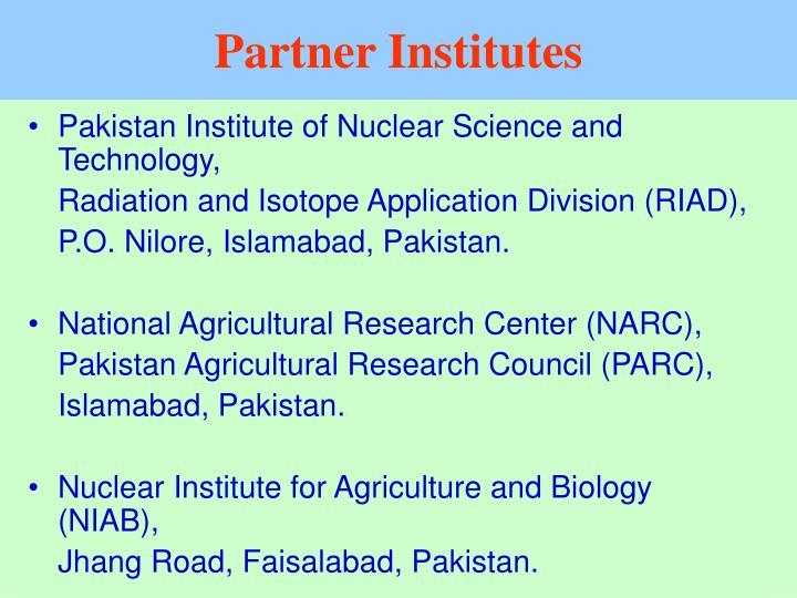 Partner Institutes