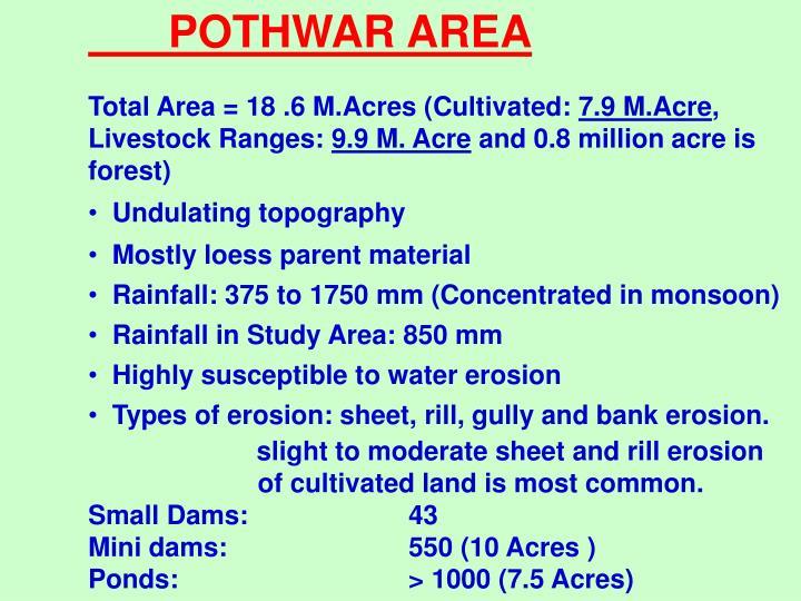 POTHWAR AREA