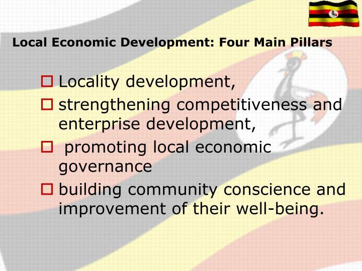 Local Economic Development: Four Main Pillars