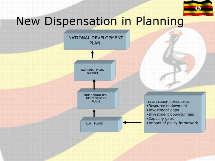 New Dispensation in Planning