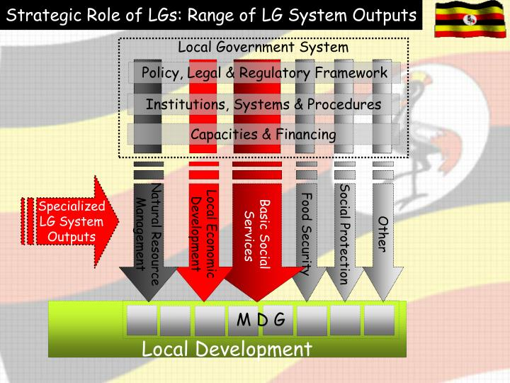 Strategic Role of LGs: Range of LG System Outputs