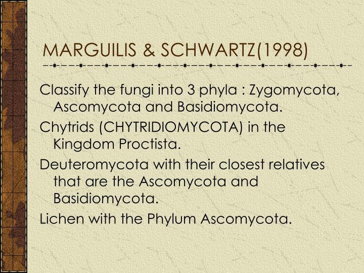 MARGUILIS & SCHWARTZ(1998)