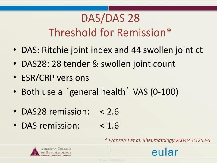 DAS/DAS 28