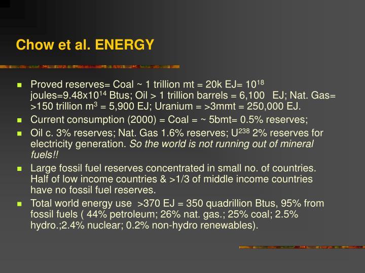 Chow et al. ENERGY