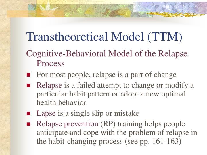 Transtheoretical Model (TTM)