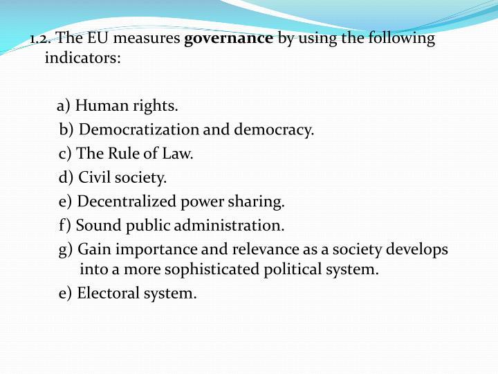 1.2. The EU measures