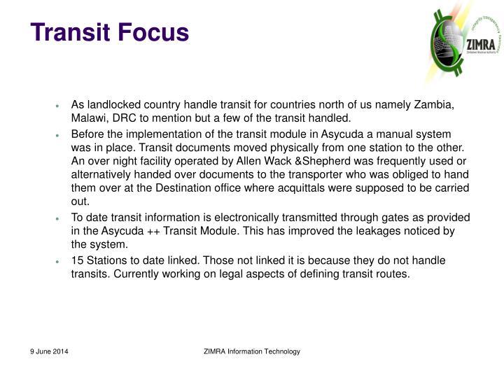 Transit Focus