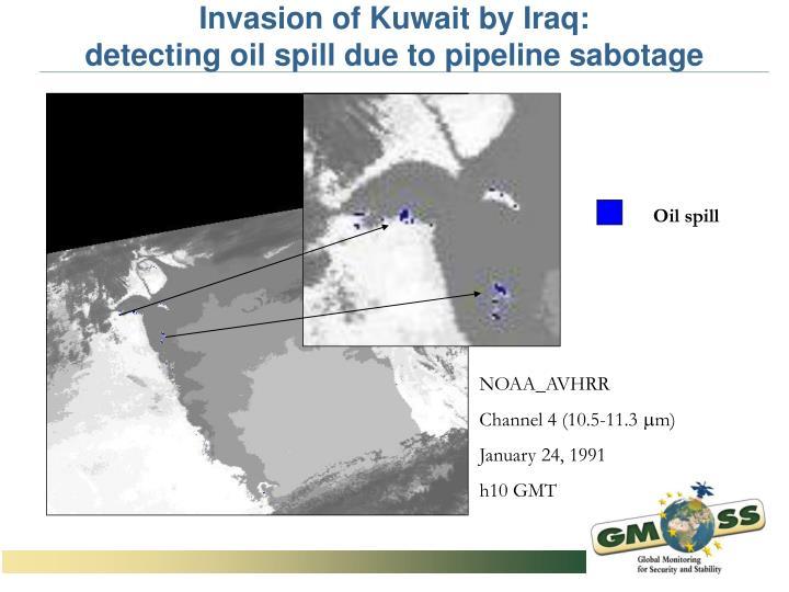 Invasion of Kuwait by Iraq: