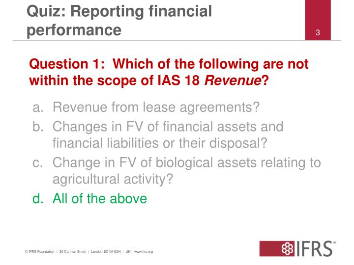 Quiz reporting financial performance2