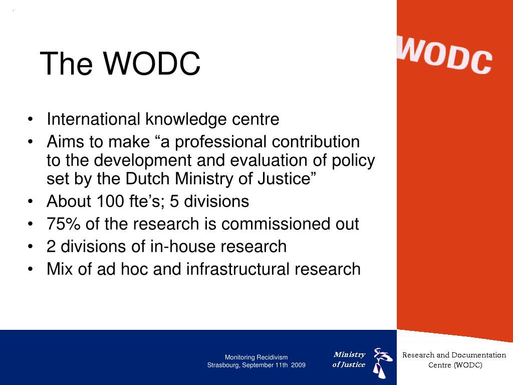 The WODC