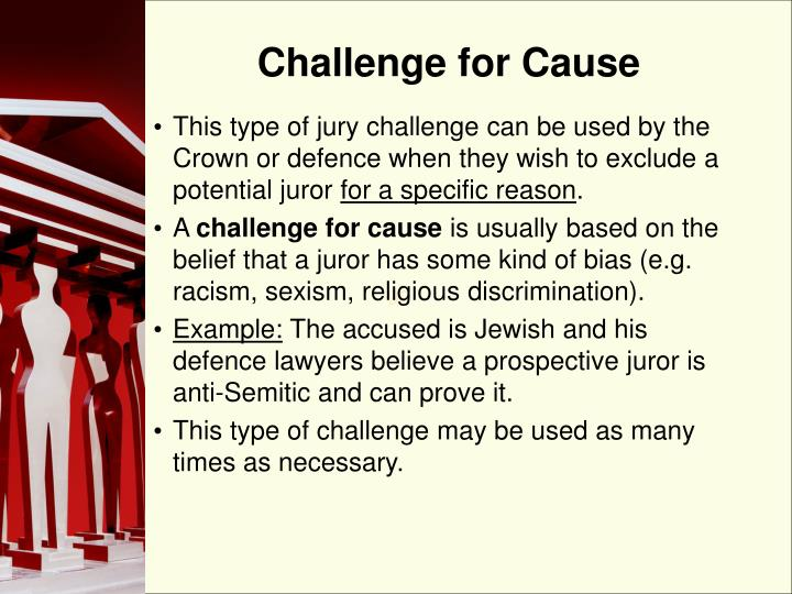 Challenge for Cause