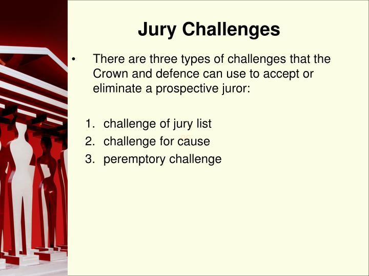 Jury Challenges
