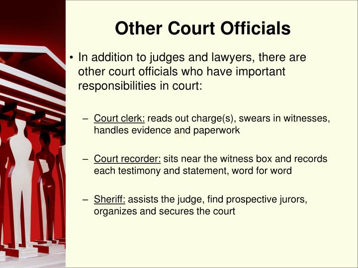 Other Court Officials