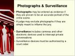 photographs surveillance