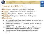 glaciers and glofs