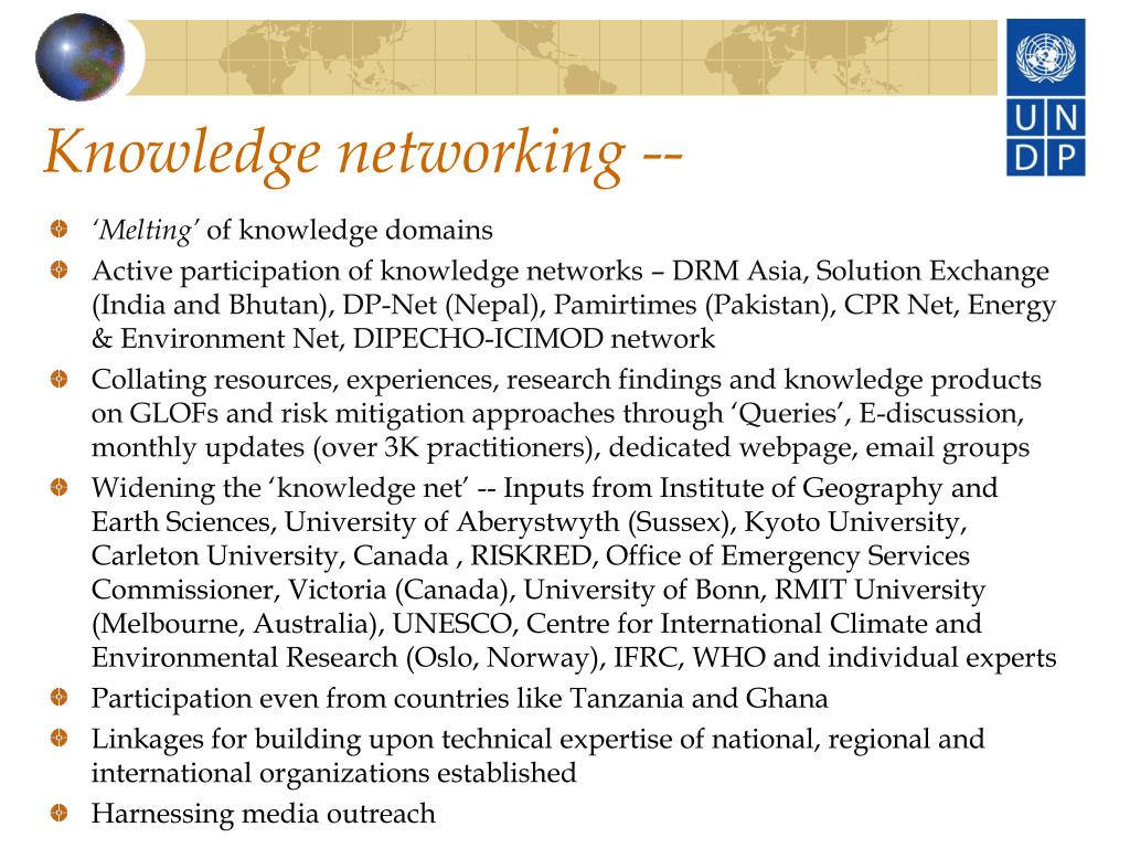 Knowledge networking --