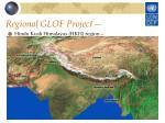 regional glof project