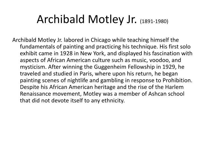 Archibald Motley Jr.