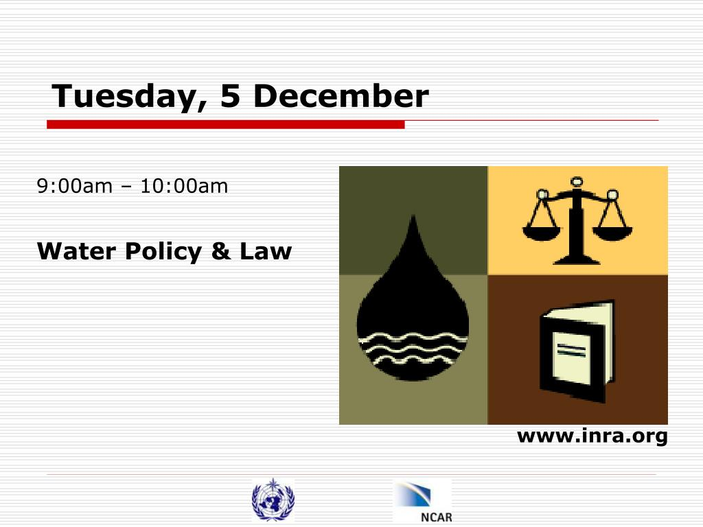 Tuesday, 5 December