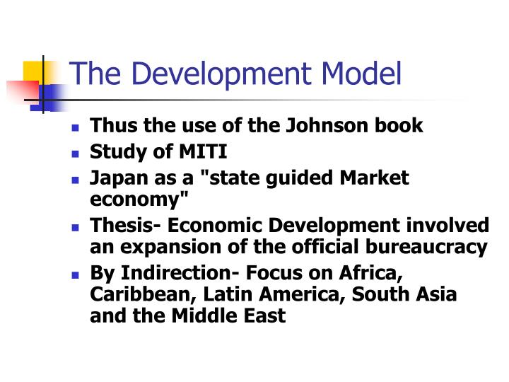The Development Model