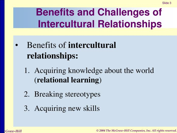 Benefits and challenges of intercultural relationships