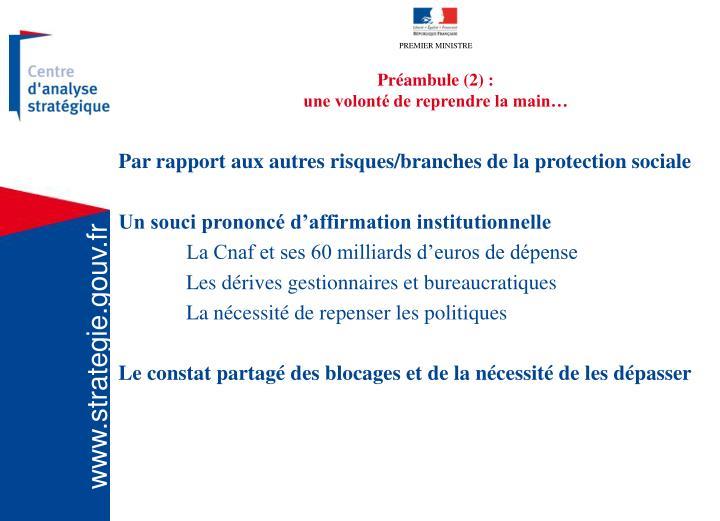 Préambule (2) :
