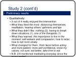 study 2 cont d2