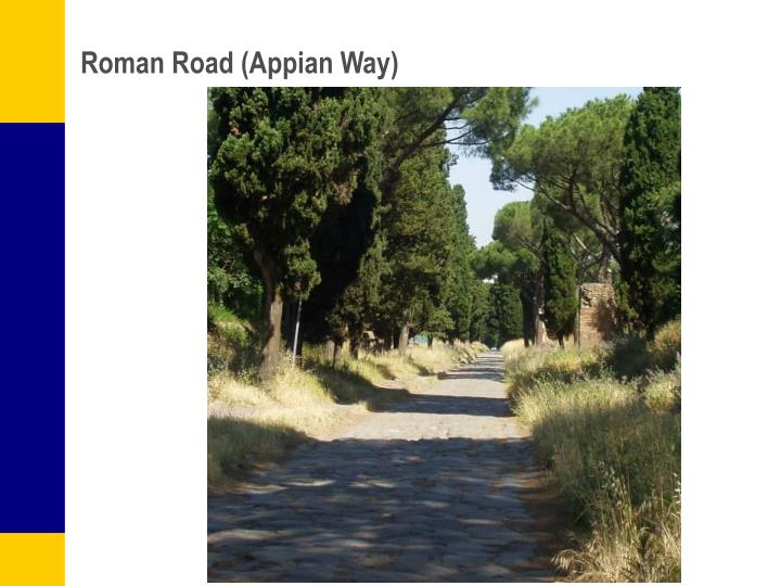 Roman Road (Appian Way)