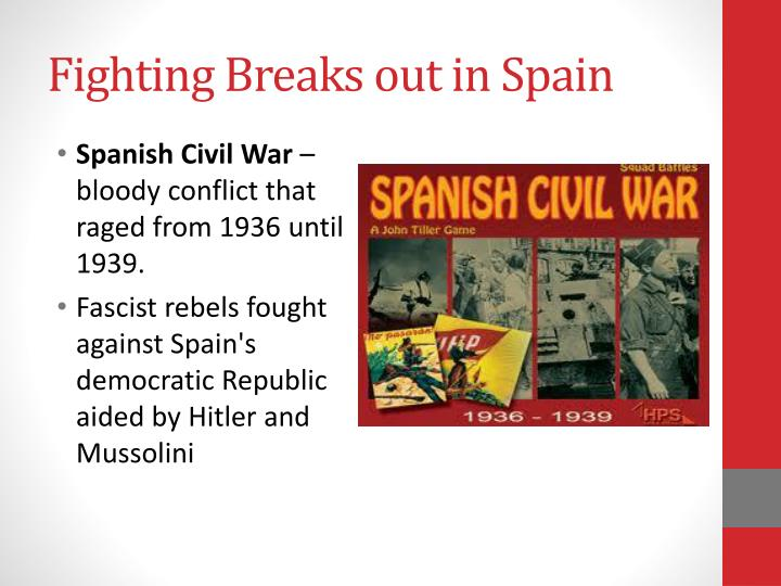 Fighting Breaks out in Spain
