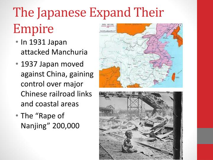 The Japanese Expand Their Empire