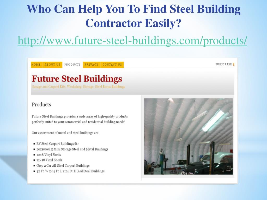 Who Can Help You To Find Steel Building Contractor Easily?