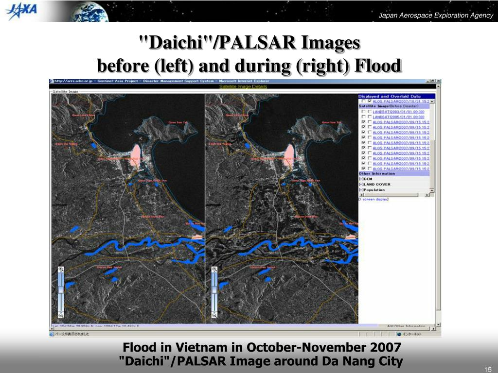 """Daichi""/PALSAR Images"