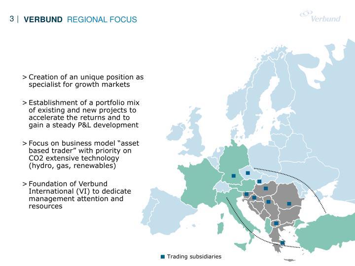 Trading subsidiaries