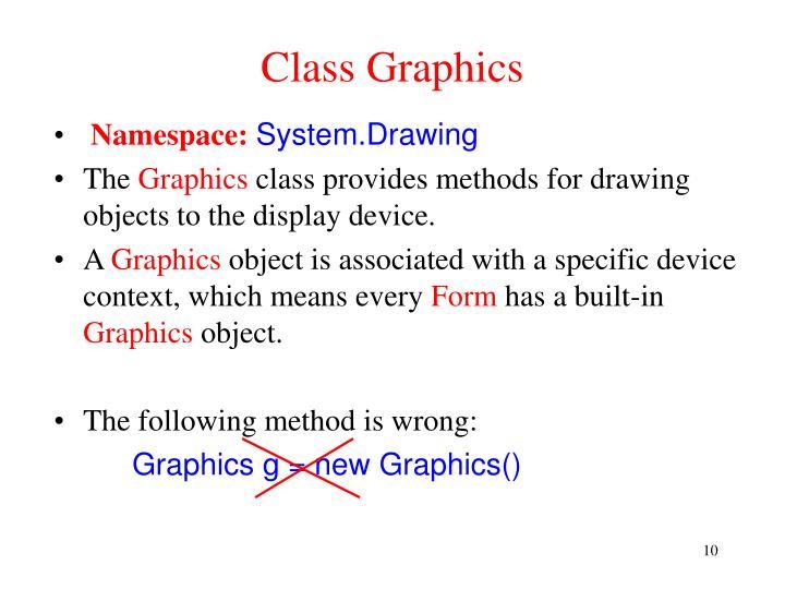 Class Graphics