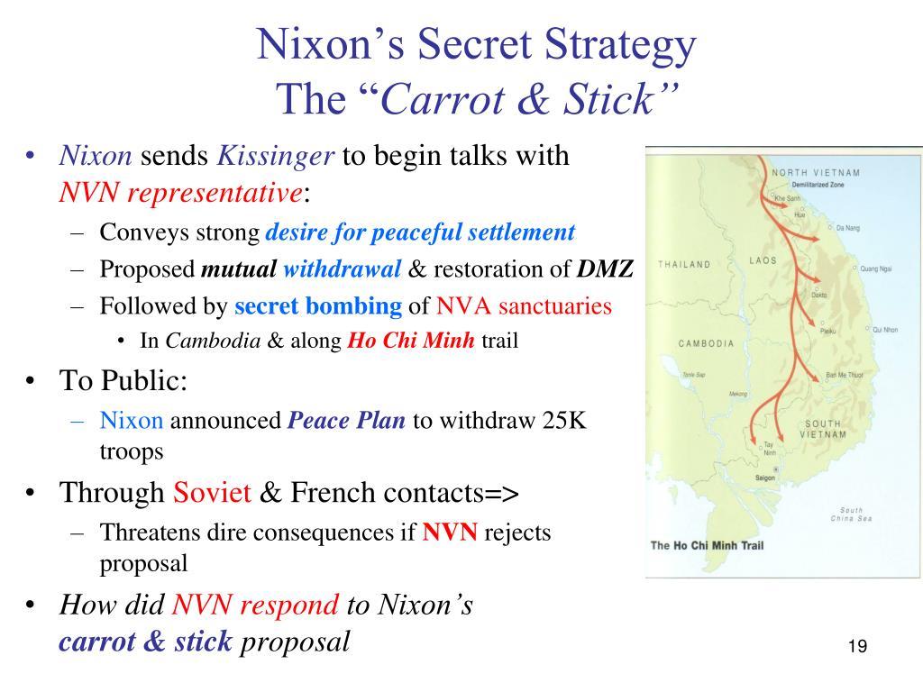 Nixon's Secret Strategy