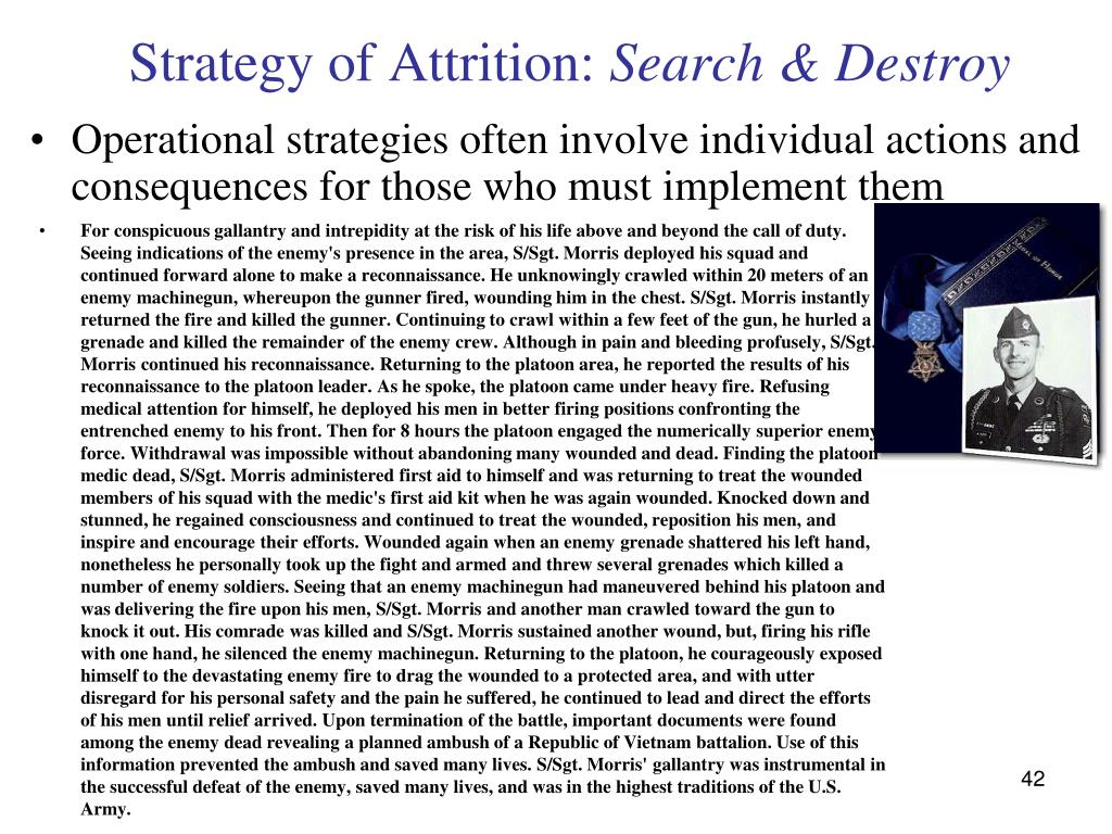 Strategy of Attrition:
