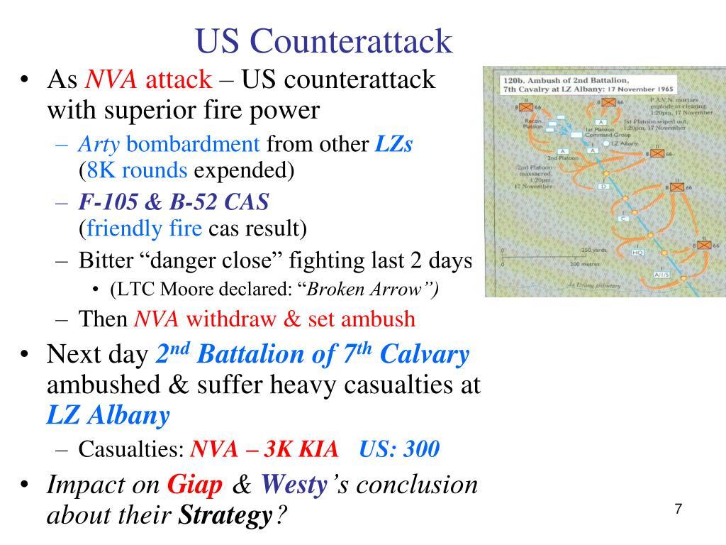 US Counterattack