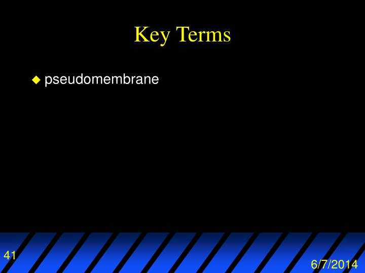 pseudomembrane