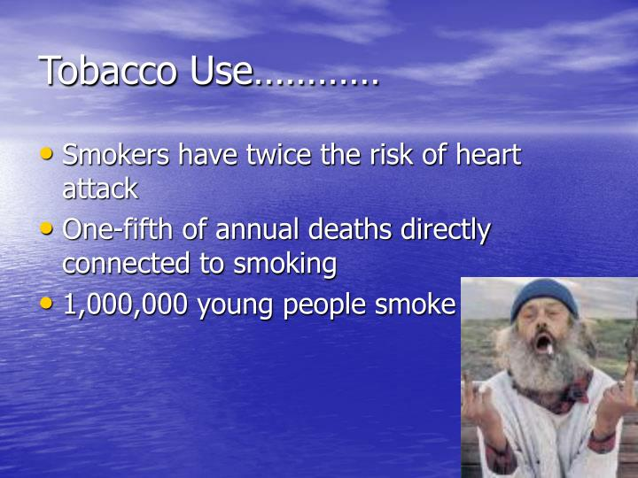 Tobacco Use…………