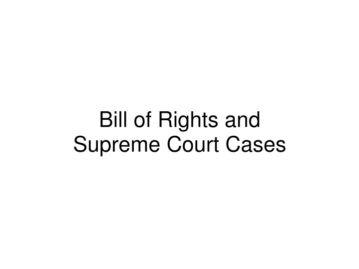 Bill french case ppt