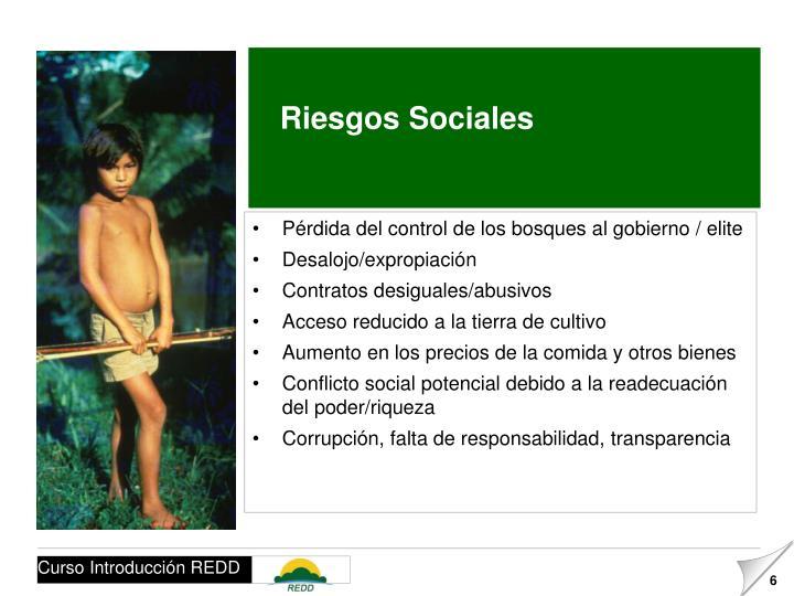 Riesgos Sociales
