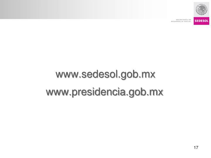 www.sedesol.gob.mx