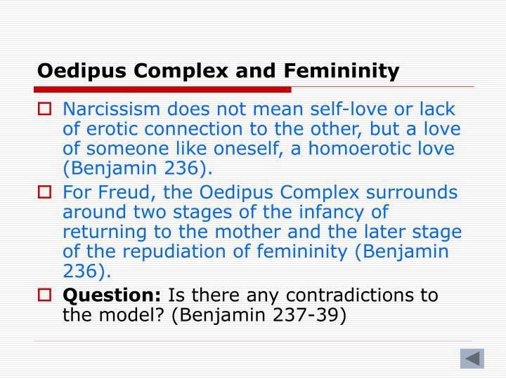 Oedipus Complex and Femininity